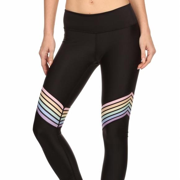 db29c8aa5644 Popactive Pants | Pastel Rainbow Dream Leggings | Poshmark
